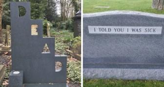14 geniale grafstenen van mensen met een Onsterfelijk gevoel voor humor