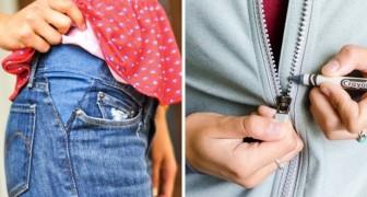 18 truques para resolver os problemas mais comuns com as roupas