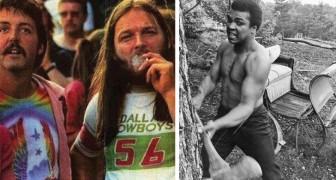 18 photos qui vous vont montrer des personnages célèbres sous un angle différent
