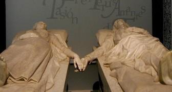 Långt ifrån varandra när de levde, förenade i den eviga vilan: den smärtsamma legenden om de älskade av Teruel