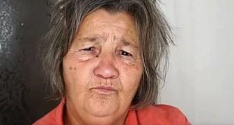 La nieta de esta mujer es maquilladora: para los 71 años le regala un cambio de look increible