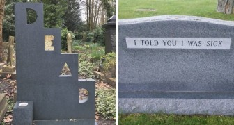 14 tombstone epitaphs that will make you break out into a smile due to their cleverness!