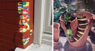 23 oggetti rotti che sono diventati piccole opere d'arte grazie a geniali trucchi
