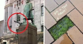 22 actos de vandalismo urbano que te sorprenderan con su genialidad