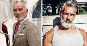 21 schöne Männer, die euch von grauen Haaren überzeugen werden