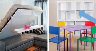 12 geniale ruimtebesparende ideeën waarmee je jouw huis in stijl netjes kunt houden