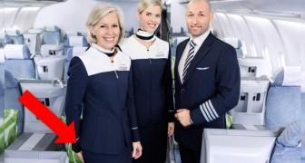 Pourquoi les hôtesses et les stewards accueillent-ils les passagers les mains derrière le dos?