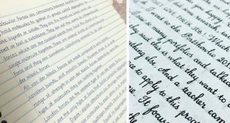 Falls es euch unmöglich scheint, dass diese Blätter von Hand geschrieben wurden, solltet ihr genauer hinsehen