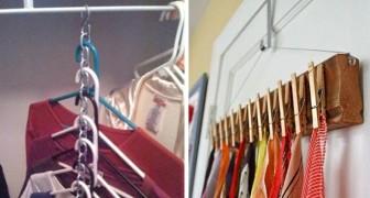 13 dritte fai-da-te per tenere gli oggetti in perfetto ordine e a portata di mano