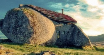 Cette maison en roche est très célèbre mais peu de gens l'ont vue de l'intérieur.