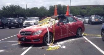 10 verkeerd geparkeerde auto's... die er flink voor betaald hebben