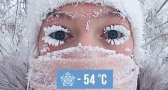 In dit Siberische dorpje zijn de temperaturen gedaald tot -54 °C en de beelden spreken voor zich