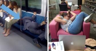 21 personnes prises en flagrant délit de sieste (improbable!)