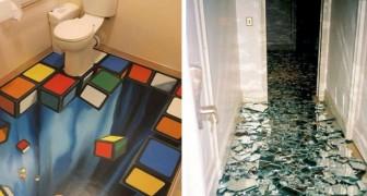 Wenn ihr diese originellen Fußböden seht, werdet ihr sofort darüber nachdenken euren neu zu gestalten