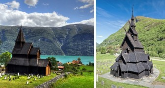 Les magnifiques églises médiévales en bois qui n'existent plus qu'en Norvège