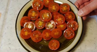 Tomaten snijden in 3 seconden...