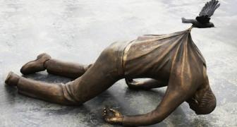 21 sculptures défiant les lois de la gravité qui vont attirer votre regard