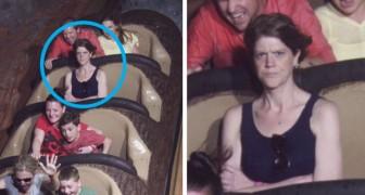 Ces photos de personnes sur les montagnes russes sont si drôles qu'elles valent le détour