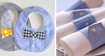 10 vackra projekt för att återvinna gamla herrskjortor