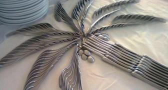 13 criações com os talheres que são fáceis de replicar