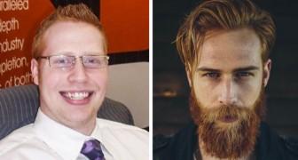 Een verzekeringsagent wordt model: de transformatie van deze man is ongelofelijk