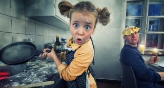 Un papa photographe chamboule les clichés de ses 4 enfants et obtient des résultats fabuleux