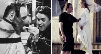 18 stiekem genomen foto's op sets van de beroemdste films