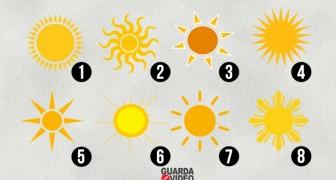 Qual sol irradia mais calor na sua opinião? Veja o que a sua escolha diz sobre a sua personalidade!