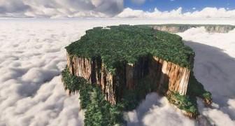 Eilanden in de wolken boven Venezuela: verloren werelden waar de evolutie een andere weg is gegaan