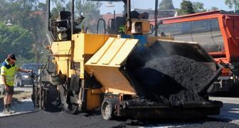 Asphalt aus Plastikabfällen: London beginnt, Straßen zu erneuern und bedient sich dabei eines innovativen Materials
