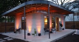 Questa casa di cemento è stata costruita in sole 24 ore, alla metà del prezzo di una convenzionale