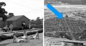 12 zeldzame foto's van de nepwijk die in Amerika werd gebouwd om voor de vijand een vliegtuigenfabriek te verbergen