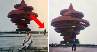 A couple discovers thanks to a photo that they were in the same place 10 years before meeting each other!