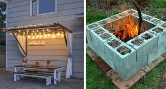 Here are some DIY ideas to give a new look to this year's garden without spending a fortune!