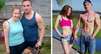 17 couples qui ont réussi à se remettre en forme grâce à la motivation réciproque