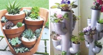 12 Möglichkeiten Töpfe im Garten zu verteilen, an die ihr noch nicht gedacht hattet