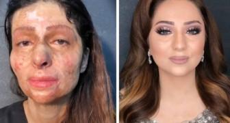 La transformacion de estas mujeres gracias al maquillaje es estupendo y angustioso al mismo tiempo