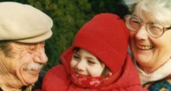 Haar grootouders zorgden ervoor dat ze haar vader niet hoefde te missen: na 20 jaar ontdekken ze een hartverscheurende brief