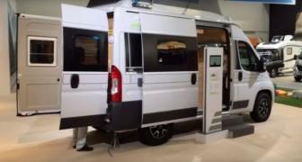 Ce véhicule a les prestations d'un camping-car et celles d'une camionette, mais c'est l'intérieur qui est au top