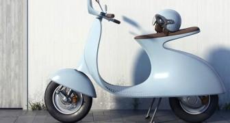 Un designer italiano reinventa la Vespa e la fa elettrica, ma c'è un'altra modifica che non a tutti piace