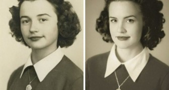 24 kleinkinderen die foto's van hun jonge opa of oma hebben nagemaakt, en dat met ongelofelijke resultaten