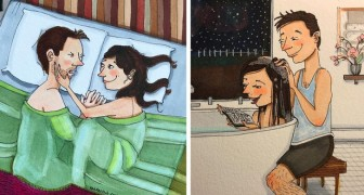 Le côté le plus secret des relations à long terme : ces 18 dessins le révèlent d'une manière douce et sincère