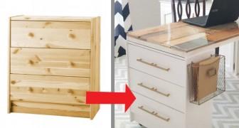 11 proyectos caseros para transformar un simple mueble IKEA en una pieza de diseño