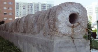 Un acquedotto romano di 2000 anni fa emerge dalle sabbie di una famosa spiaggia nel sud della Spagna
