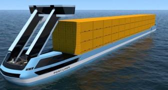 Hier sind die Tesla-Schiffe, die ersten 100% grünen Schiffe die den Transport auf den Meeren revoutionieren