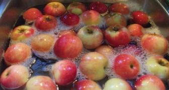 Här är den mest effektiva metoden för att ta bort bekämpningsmedel från frukt och grönsaker