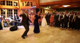 Mother - son wedding dance...Wow !