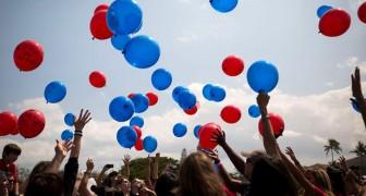 Welches Ende nehmen die Helium-Ballons die wir in die Luft steigen lassen? Diese schrecklichen Fotos zeigen es uns klar