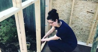 Sie hat kein Haus nach ihrer Scheidung: diese Mutter baut ALLEINE ein Haus für sich und ihre Kinder