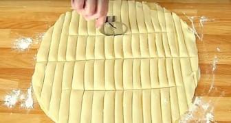 Biscochos de masa de hojaldre rellenos de manzana: esta deliciosa receta se prepara en tiempo record